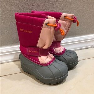 Columbia Powderbug Plus Toddler Girl Snow Boots 8